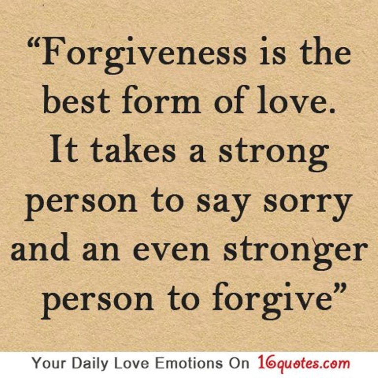Forgiveness Is The Best Form Of Love Ali Khans Official Website