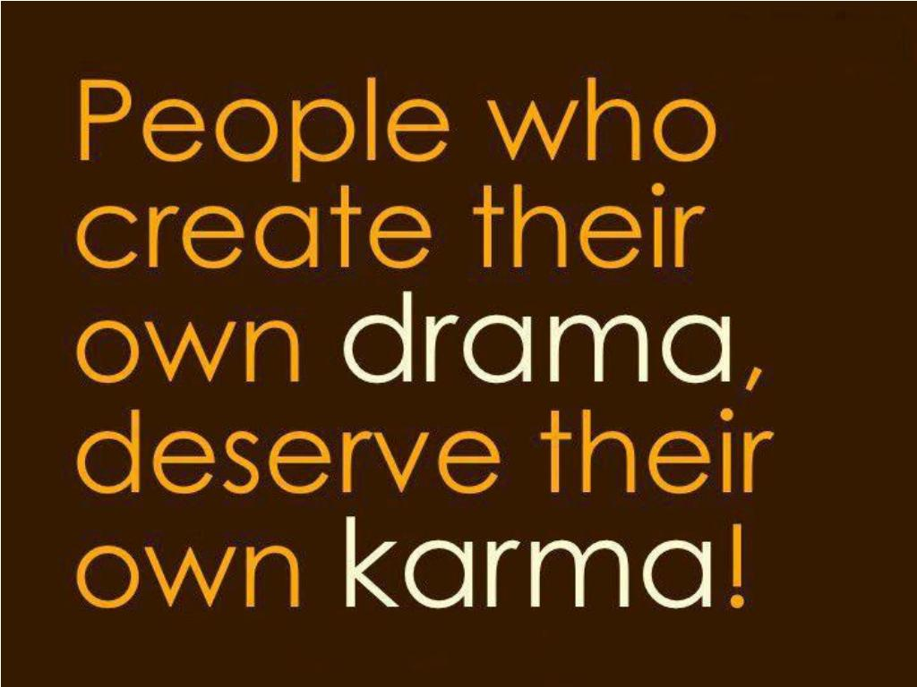 People who create their own drama | Ali Khan's Official Website